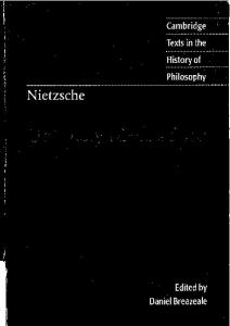 Untimely Meditations (Cambridge Texts in the History of Philosophy)