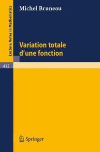 Variation Totale d'une Fonction