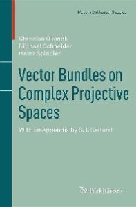 Vector bundles on complex projective spaces