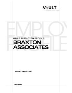 Vep: Braxton Associates (Formerly Deloitte Consulting) 2003