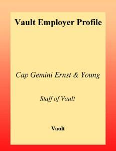 Mercer Management Consulting 2003 (Vault Employer Profile)
