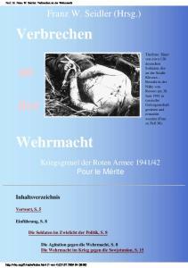 Verbrechen an der Wehrmacht