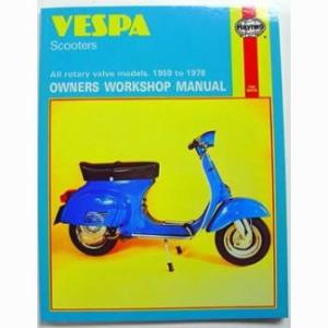 Vespa Scooters Owners Workshop Manual: All rotary valve models 1959 to 1978: No. 126 (Haynes Manuals)