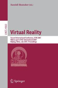 Virtual Reality, 2 conf., ICVR 2007