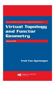 Virtual Topology and Functor Geometry