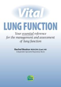 Vital Lung Function (Vital Guides)