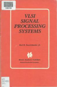 VLSI Signal Processing Systems