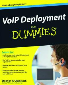VoIP Deployment For Dummies (For Dummies (Computer Tech))
