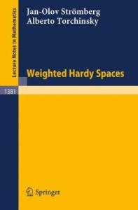 Weighted Hardy Spaces