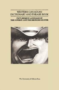 Western Canadian Dictionary and Phrase Book
