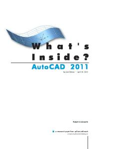 What's Inside? Autocad 2011 (2nd Edition)