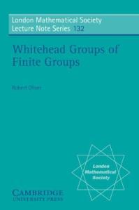 Whitehead groups of finite groups