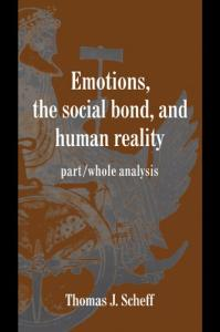 Whole Analysis (Studies in Emotion and Social Interaction)