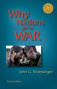 Why Nations Go to War 10th edition
