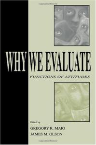 Why we evaluate: functions of attitudes
