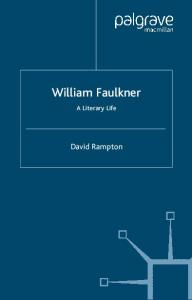 William Faulkner: A Literary Life (Literary Lives)