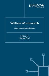 William Wordsworth: Interviews and Recollections