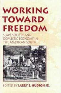 Working Toward Freedom Slave Society and Domestic Economy in the American South