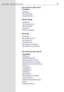 Yale Web Style Guide