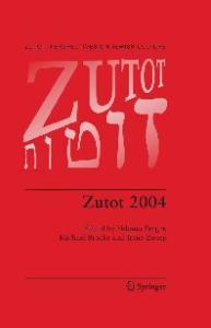 Zutot 2004 (Zutot: Perspectives on Jewish Culture)